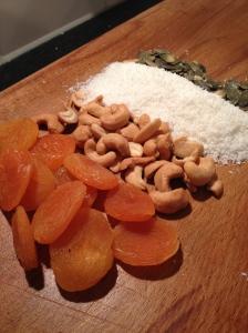 Abrikozen & cashew energybar