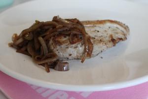 Varkenshaas uit de oven met uienchutney