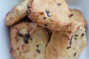 Chocolade en macademia chip koekjes