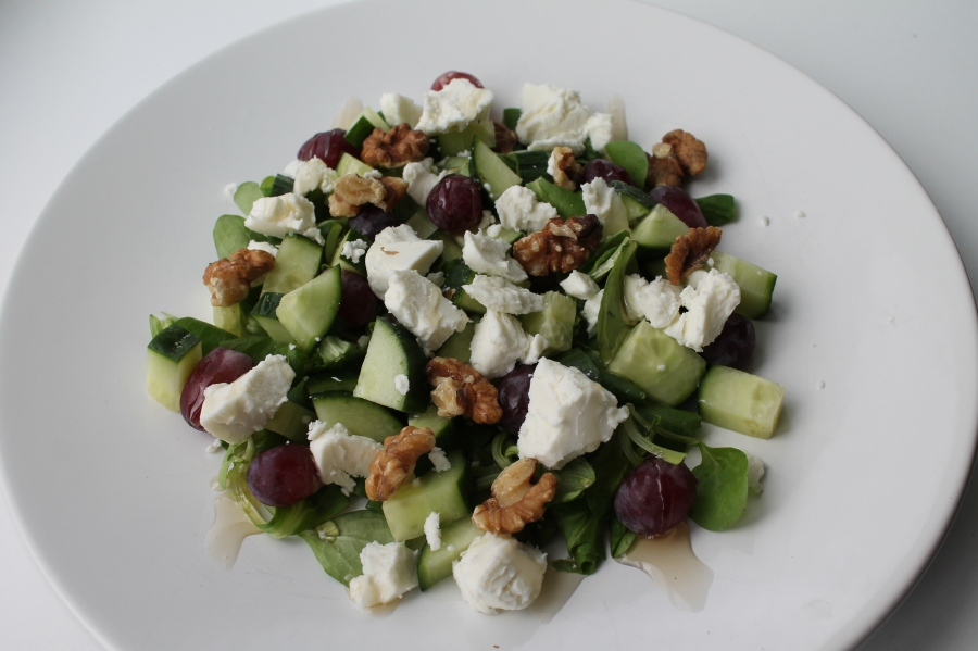 goatcheese salade