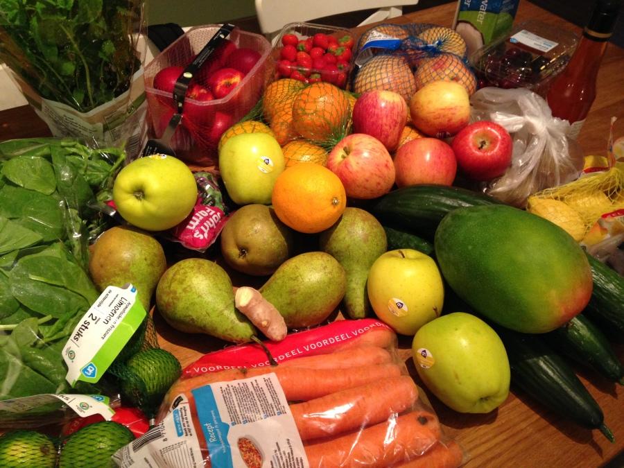 vers fruit en groente