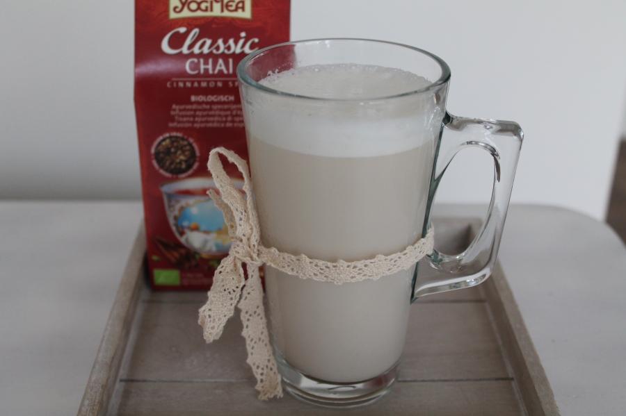 Chai tea latte paleo