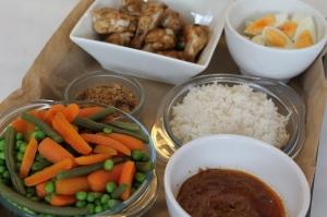 Gado Gado (Indonesische rijsttafel)