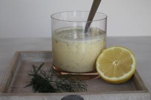 citroen dille mayonaise met yoghurt