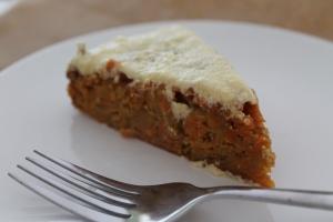glutenvrije worteltaart