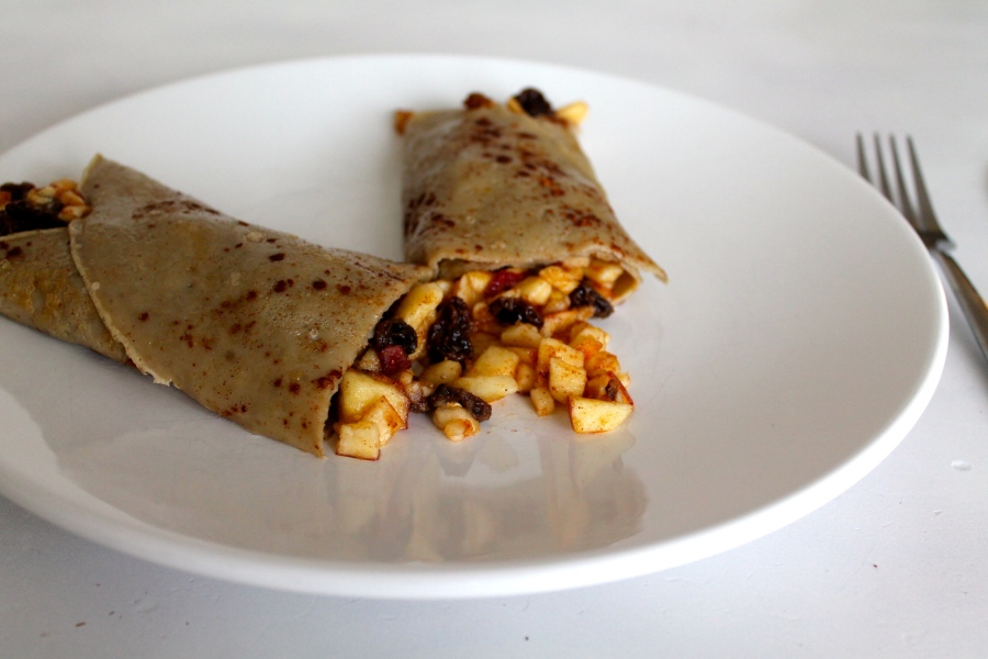 appeltaart crepes