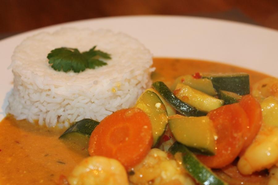 snelle makkelijk thaise curry