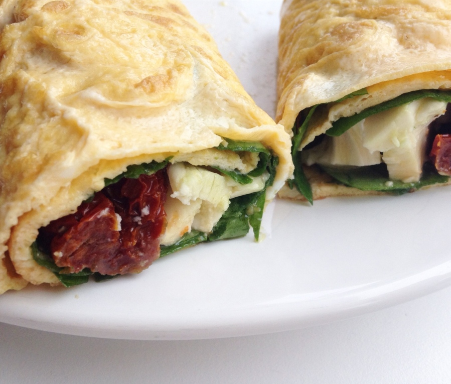 italiaanse omeletwrap
