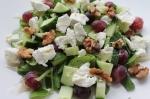 geitenkaas salade met druiven