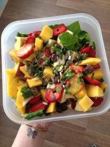 raw vegan salade