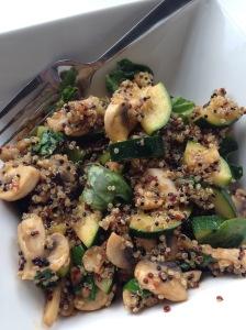 quinoa oosters groenten