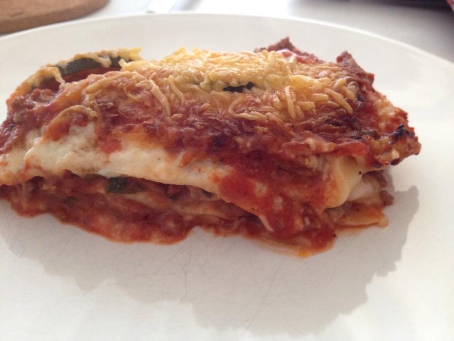 gluten vrije lasagne bolognese