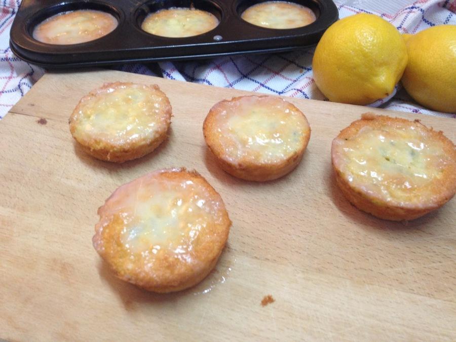 courgette citroen muffins