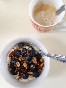 granola besjes yoghurt